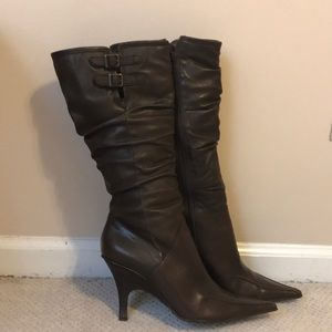 Madison Studio Brown Leather Boots